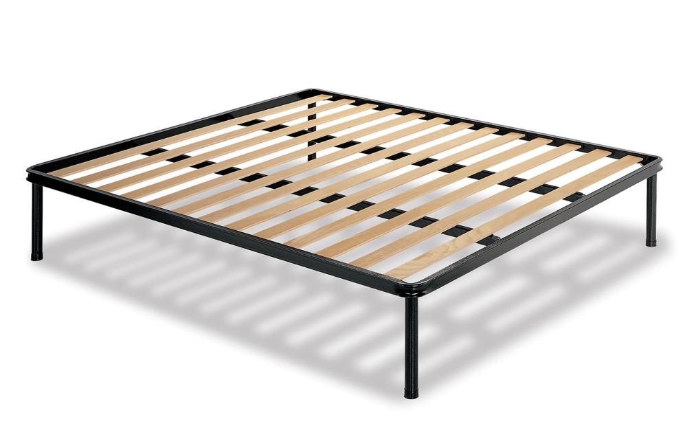 Reti da letto a doghe cheap letto beige in lino e cotone - Reti con doghe ikea ...